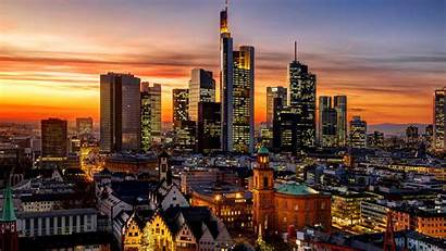 Frankfurt Skyline Bing Hessen Deutschland