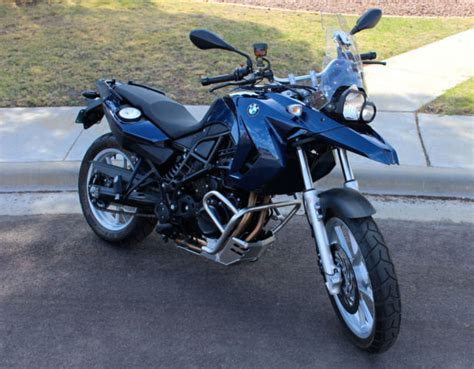 2012 Bmw Motorrad F650gs Twin Motorcycle Lowered