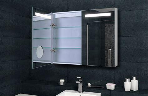 Badezimmer Spiegelschrank Bad Led Beleuchtung Mit