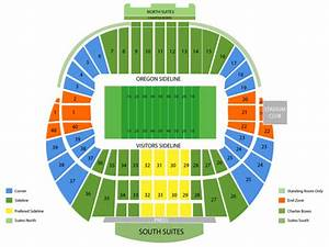 Autzen Stadium Seating Chart U Of O Football Stadium Seating Chart Brokeasshome Com