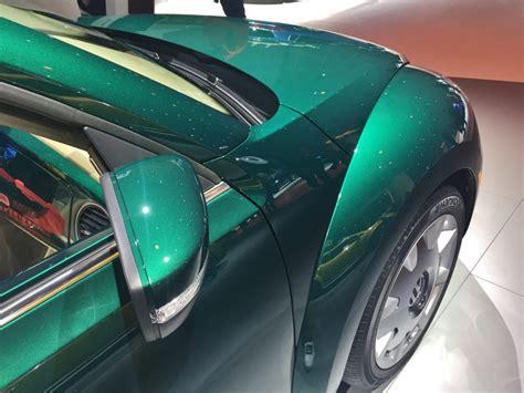green volkswagen beetle 2017 la auto show cook vw