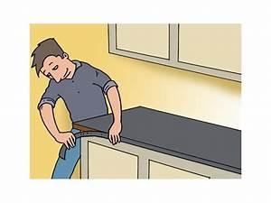 Acheter Feuille De Stratifié à Coller : placer un plan de travail dans une cuisine plan de ~ Premium-room.com Idées de Décoration