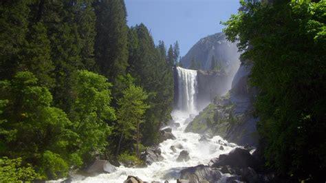 california vernal fall  yosemite national park  bing