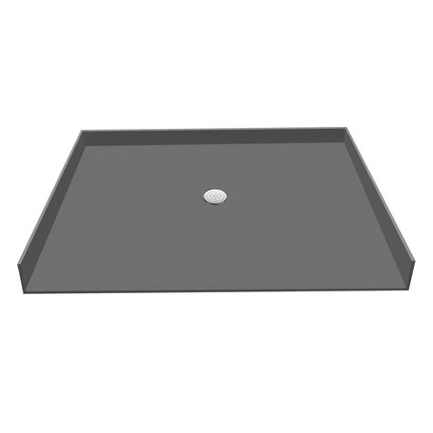 tile redi shower pan home depot redi base 31 in x 63 in barrier free shower base with