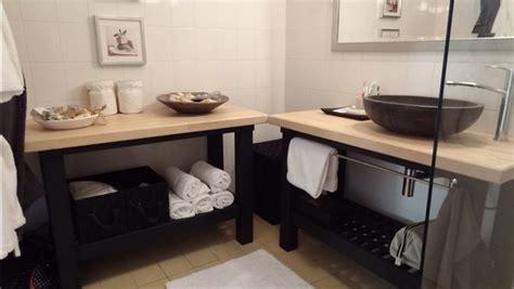 salle de bain style spa bidouilles ikea