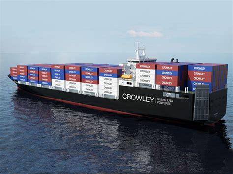 Crowley Puerto Rico Sets Stage for LNG ConRo Ships | World ...