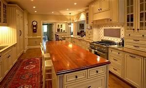 Cherry Wood Countertops, Butcher Block Countertops, Bar Tops