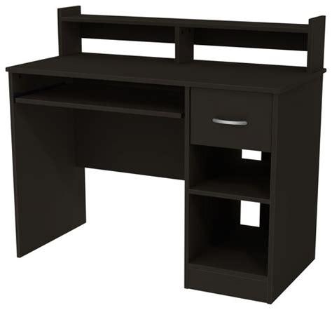 best buy desk south shore axcess student computer desk black 7270076c