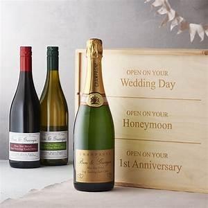 personalised wedding wine box by intervino ...