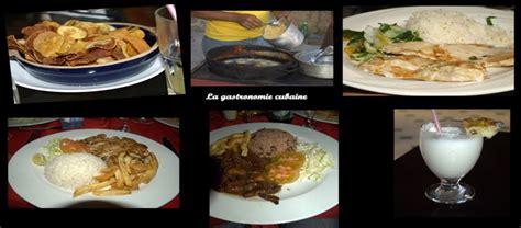 cuisine cubaine les activités et les loisirs à cuba
