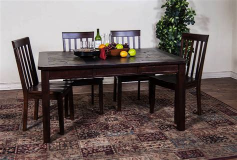 rustic dining table set and dining table