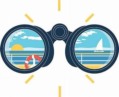 Binoculars Vector Illustrations Clip Illustration