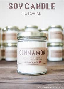 tutorial soy wax candles plus a free label printable With diy labels for candles