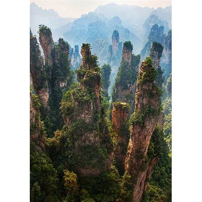 Zhangjiajie Tianmen Mountain National Park – ChinaWorld