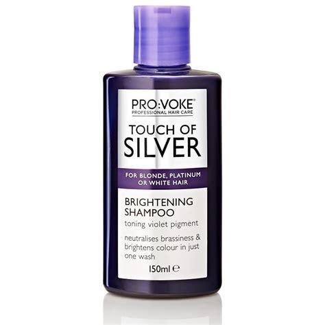 PRO:VOKE Touch of Silver Brightening Shampoo 150m   B&M