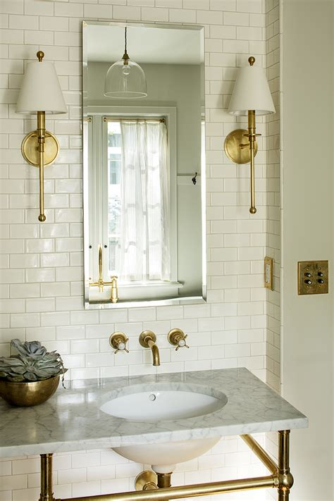 daily find waterworks newell antique brass wall sconce