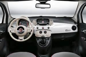 fiat 500 design 2016 interior fiat 500 white design all about gallery car