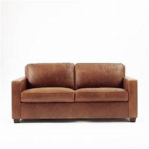 henryr leather sofa molasses west elm With henry leather sectional sofa