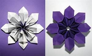 Fleur En Origami Facile : modulaire senbazuru vid os pour apprendre l 39 origami ~ Farleysfitness.com Idées de Décoration