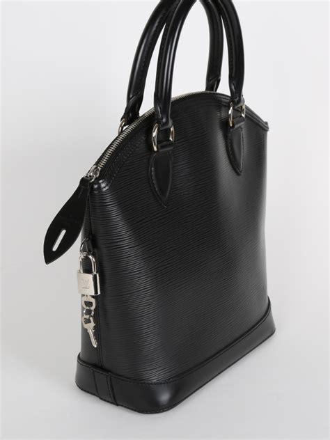 louis vuitton lockit epi leather noir luxury bags