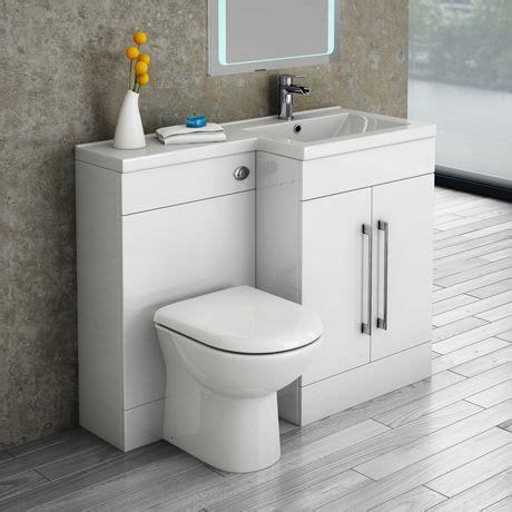 valencia lh mm combination bathroom suite unit