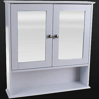 Mirror Bathroom Wall Cabinet by Bathroom Wall Cabinet White Mirror Door Wooden