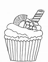 Cupcake Coloring Muffin Pages Kiwi Sellos Digitales Papel Cupcakes Colouring Cup Cakes Mis Adult Hojas Sheet sketch template