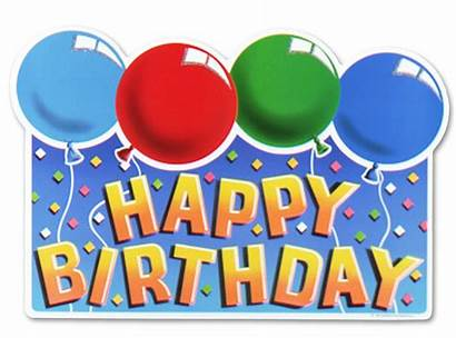 Birthday Happy Signs Printable Sign Party Clip
