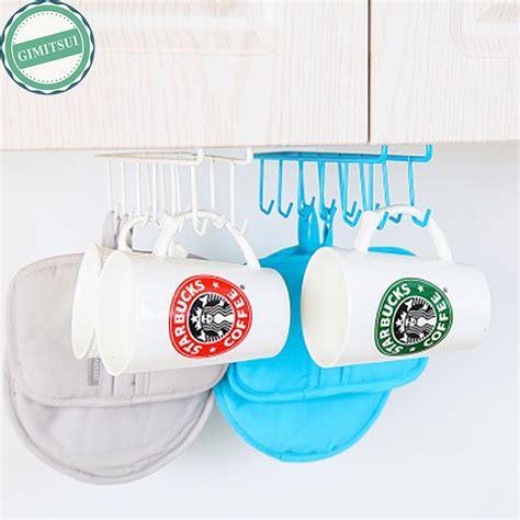 Kitchen Hooks For Pot Holders by 2pc 12 Hooks Iron Hanging Pot Holder Pan Mug Cup Hanger