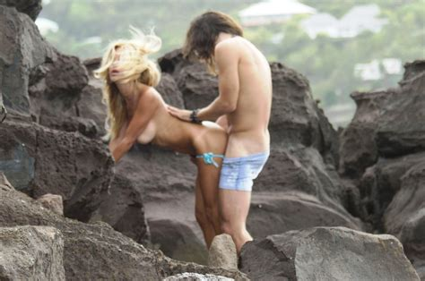 Shauna Sand Sex On The Beach Blowjob Getting Fucked Sextape