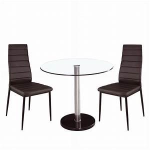 Tisch Mit 2 Stühlen : design glastisch 2 st hle esszimmerset glas tisch esstisch modern bistro set ebay ~ Indierocktalk.com Haus und Dekorationen