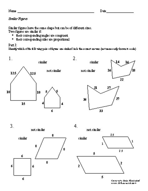 worksheets congruent shapes search results calendar 2015