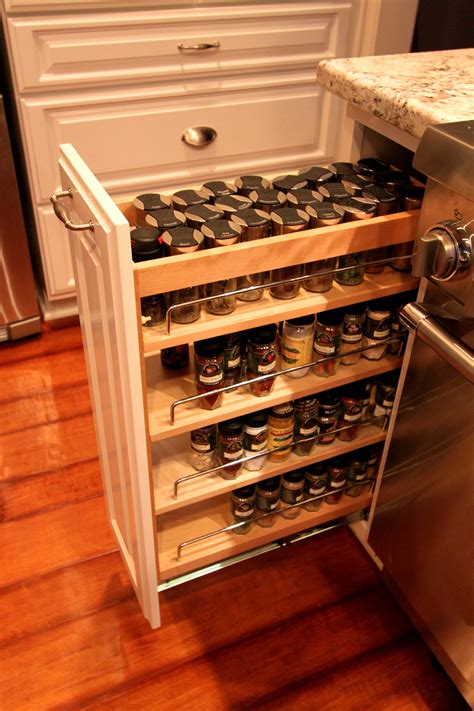 Spice Rack Organizer For Cabinet by Kitchen Breathtaking Artwood Cabinets Pull Out Spice