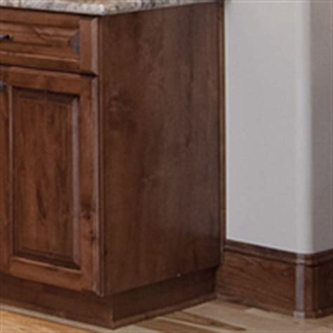 cabinet finished end panels finished ends aura cabinetry building quality kitchen