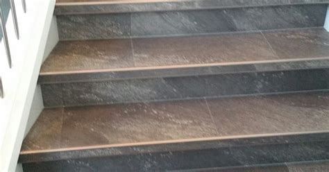 tile stair nosing manufacturers luxury vinyl tile installed with custom insert stair