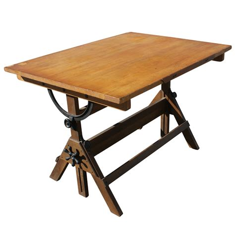 antique drafting table for sale vintage drafting light table desk wood glass ebay