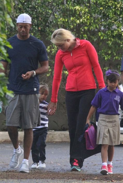 Tiger Woods and Lindsey Vonn Take His Kids to School - The ...