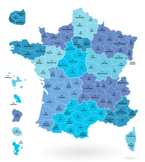 Carte De Et Region Et Departement by Cartes Des D 233 Partements Et R 233 Gions De La Cartes