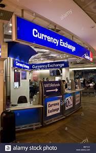 Bureau De Change Office Operated By Travelex At Heathrow