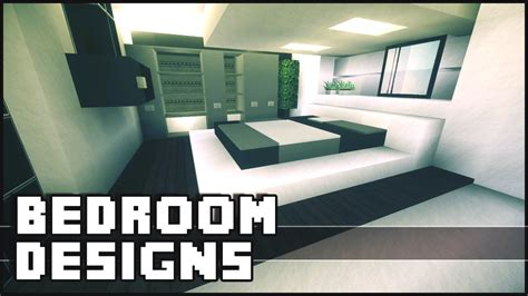 Minecraft  Bedroom Designs & Ideas  Youtube