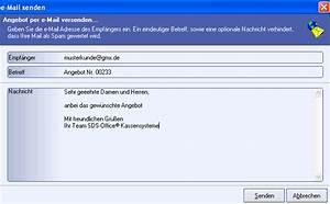 Gmx Rechnung : sds kassensysteme kassensoftware rechnung email ~ Themetempest.com Abrechnung