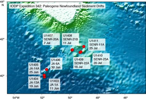 Iodpusio Expeditions Expedition 342 Ship Reports