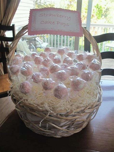 girl baby shower cake pops custom confections