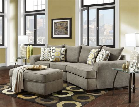 Sectional Sofas With Ottoman by Essence Platinum 2 Pc Cuddler Sectional Sofa Sets