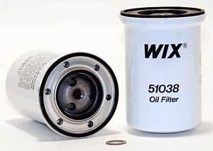 Wix 51038 Napa 1038 Oil Filter Fleetfilter Wix