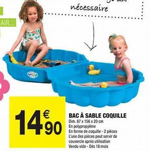 Bac à Sable Castorama : bac coquillage ~ Dailycaller-alerts.com Idées de Décoration