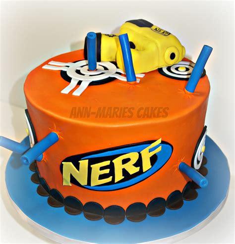 nerf birthday cake nerf gun cake cakecentral