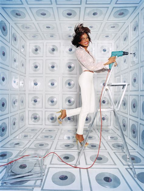 whitney houston  david lachapelle