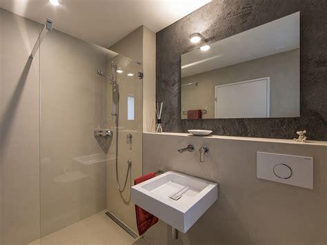 Badezimmer Ohne Fliesen by Wand14 Fusion Puristische Wohn Und Arbeitsbereiche