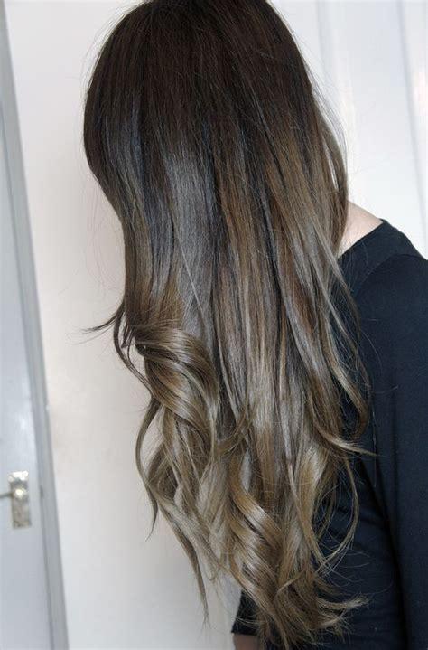 dark brown hair with light brown tips dark brown hair ombre enchanting dark brown hair